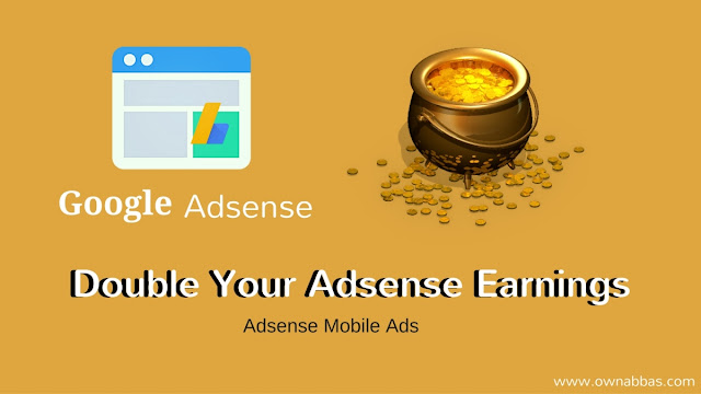 How to double your non hosted adsense earning on your blog.