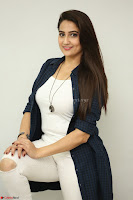 Manjusha in White Tight T Shirt and Black Jacket ~  Exclusive Celebrities Galleries 008.JPG