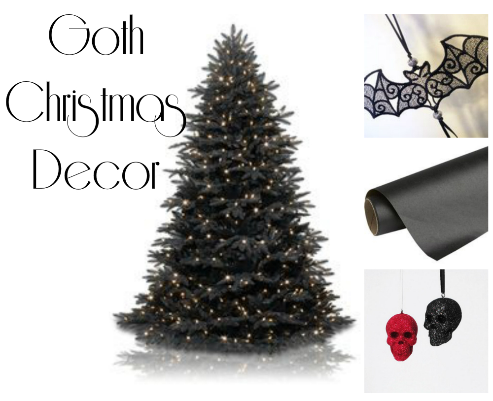 until then i am adding to my gothic christmas pinterest board which has tons of inspiration for seasonal dark decor heres a sneak peak - Gothic Christmas Decorations