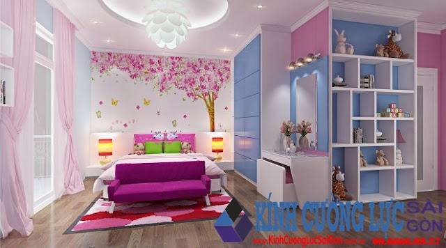 Nhiệm vụ của tranh kính ốp tường phòng ngủ