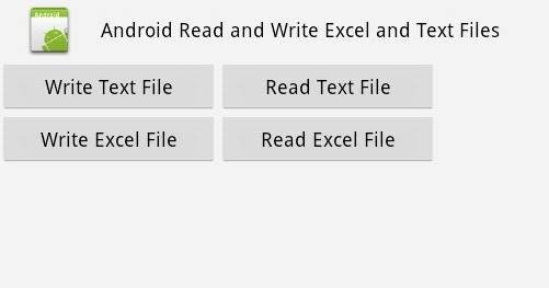 Programmers Sample Guide: Android Read Write EXCEL file