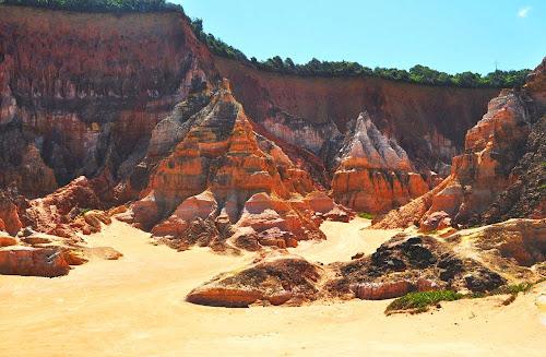 Falésias da Praia do Gunga – AL