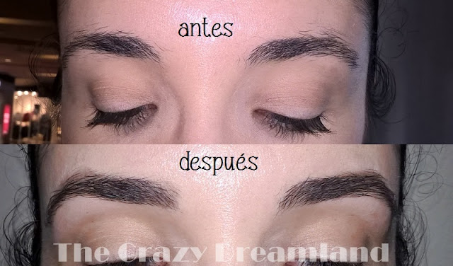 mi experiencia brow bar benefit