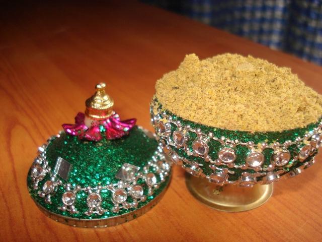Homemade Aavaram Poo Body Scrub for Clear Skin