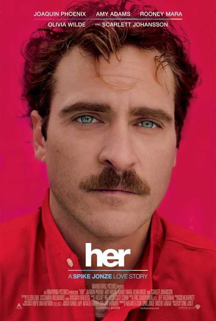 poster Her 2013 Full Movie Download Dual Audio Hindi 720p