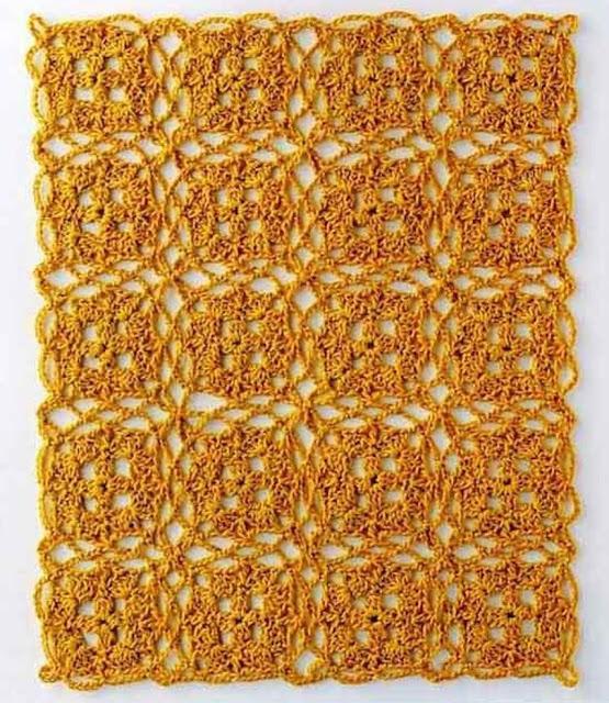 Patrón #1679: Carpetita a Ganchillo