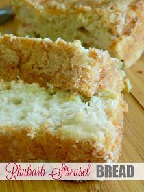 rhubarb streusel bread (sweetandsavoryfood.com)