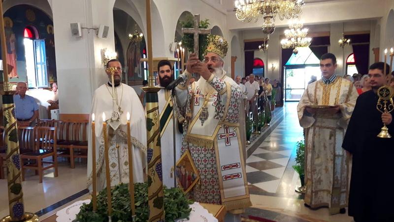 Εορτασμός της Υψώσεως του Τιμίου Σταυρού στις Φέρες