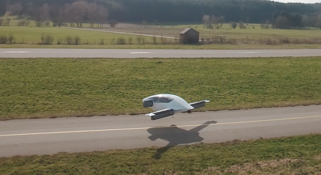 Flying Car Actually Flies