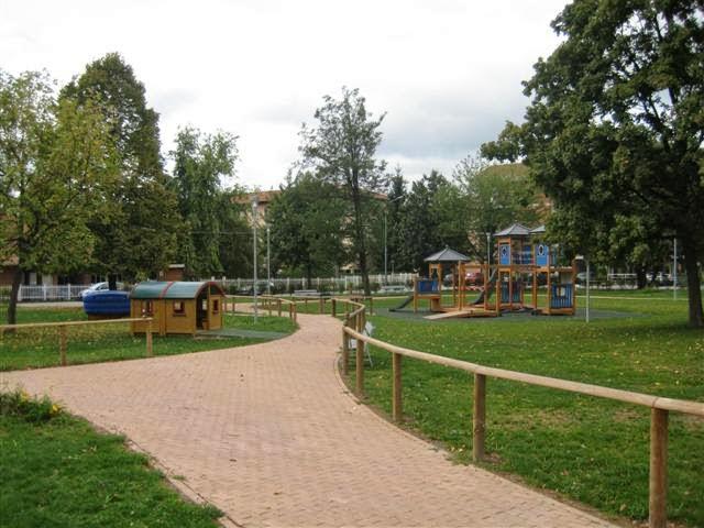 Parco dell'Albero d'Oro a Candelo, (Biella)