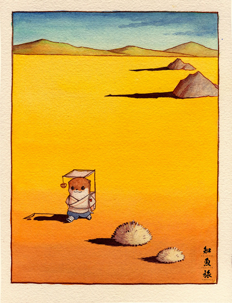 simon-lee-14 Mr.Otter's Practice Travels: Illustrations by Simon Lee Design