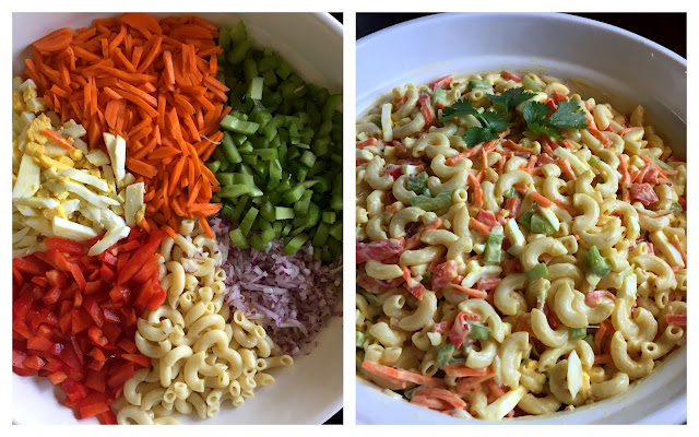 mennonite girls can cook: rainbow pasta salad