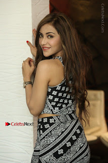Telugu Actress Angela Krislinzki Latest Pos in Short Dress  0079.JPG