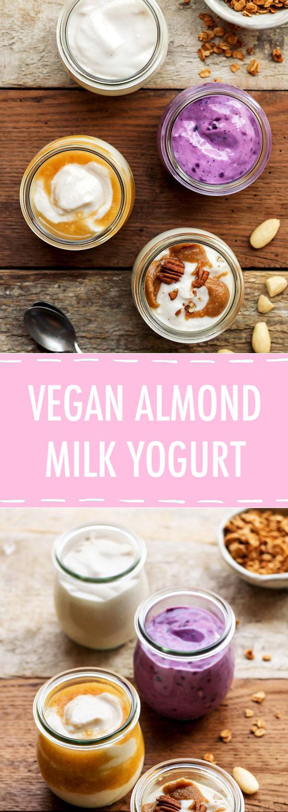 Vegan Almond Milk Yogurt