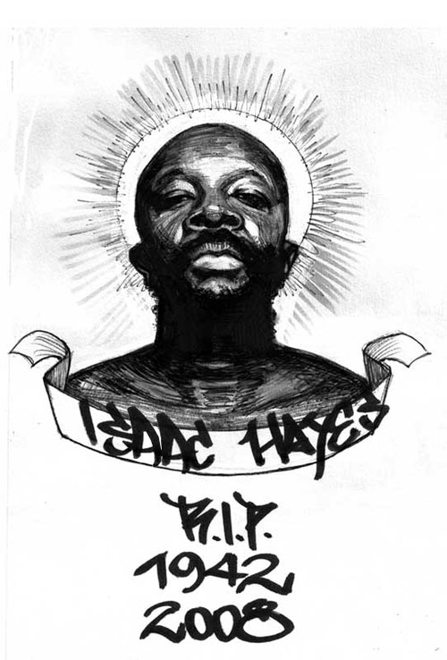 Zur Erinnerung an Isaac Hayes (free mixtapes)