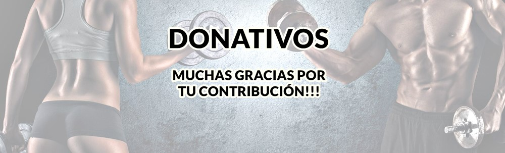 Donaciones blogs de salud y fitness