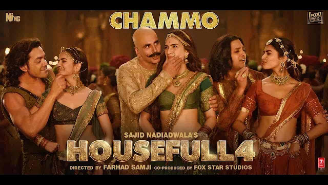 Chammo Lyrics - Housefull 4 | Sukhwinder Singh, Shreya Ghoshal, Shadab Faridi