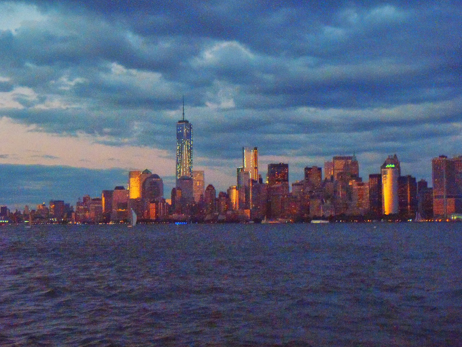 new york city from the river