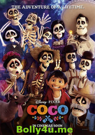 Coco 2017 HDTS 700MB Hindi Dubbed 720p Watch Online Full Movie Download bolly4u
