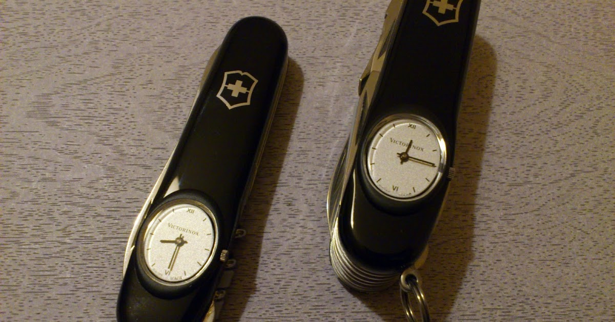 Mario S Swiss Army Knives Victorinox Time Keeper And