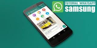 cara memasang aplikasi whatsapp untuk samsung