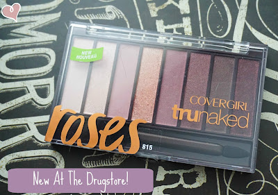 CoverGirl Roses TruNaked Shadow Palette