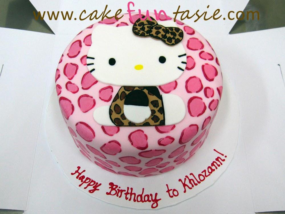 Cake Funtasie August 2013