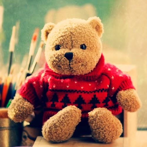 Gambar boneka teddy bear lucu
