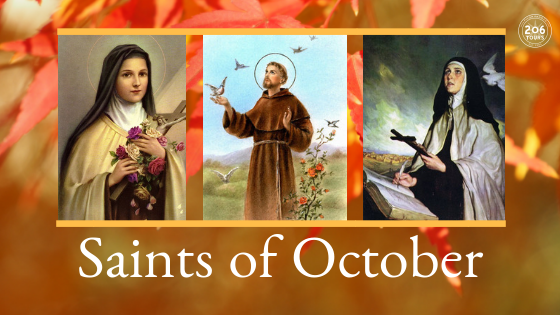 Saint of October | 206 Tours Blog