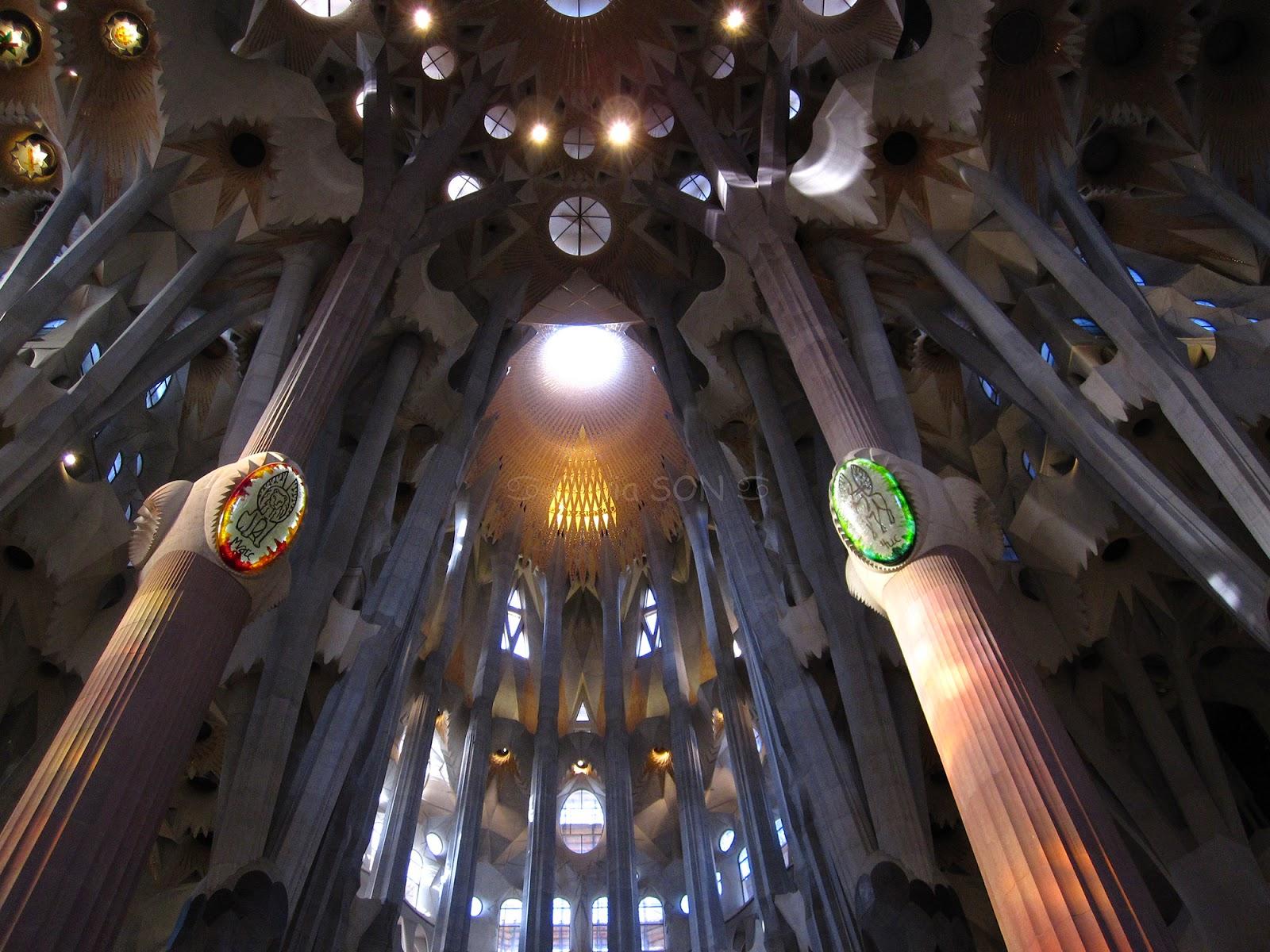 sagrada familia barcelone, espagne, europe