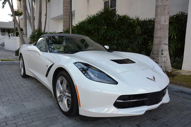 Miami Beach cars Corvette
