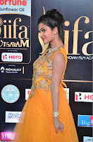 Keerthi in Orange Anarkali Dress at IIFA Utsavam Awards 2017  Day 2  06.JPG