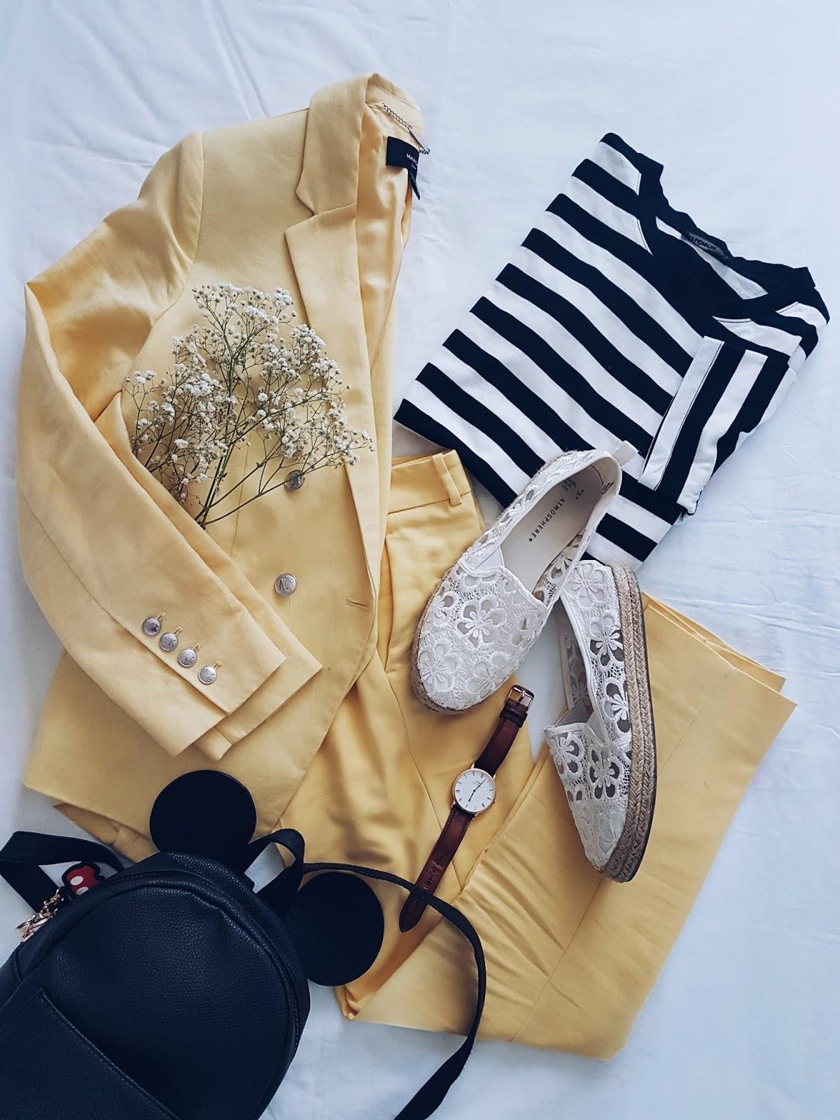 Yellow suit czyli letni garnitur w wersji casual