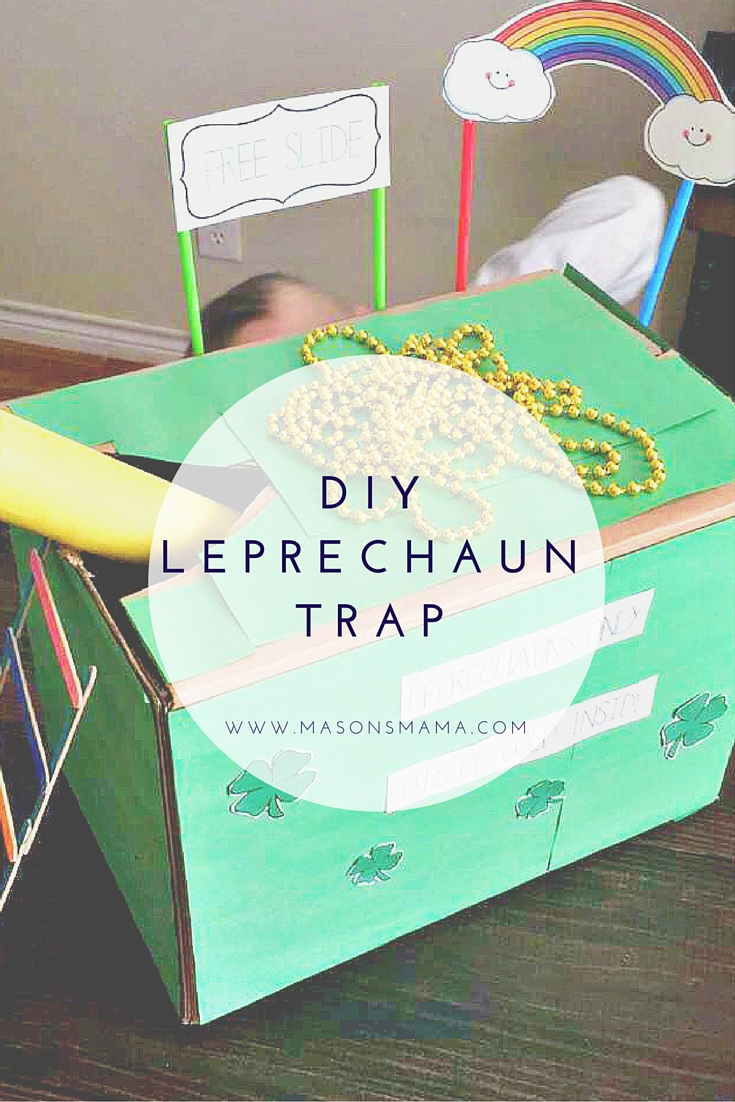 DIY Leprechaun Trap - Hall Around Texas