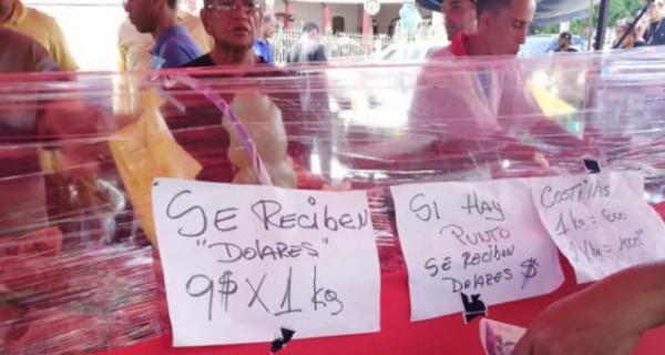 Carnicerías de Venezuela comienzan a vender sus productos en dólares