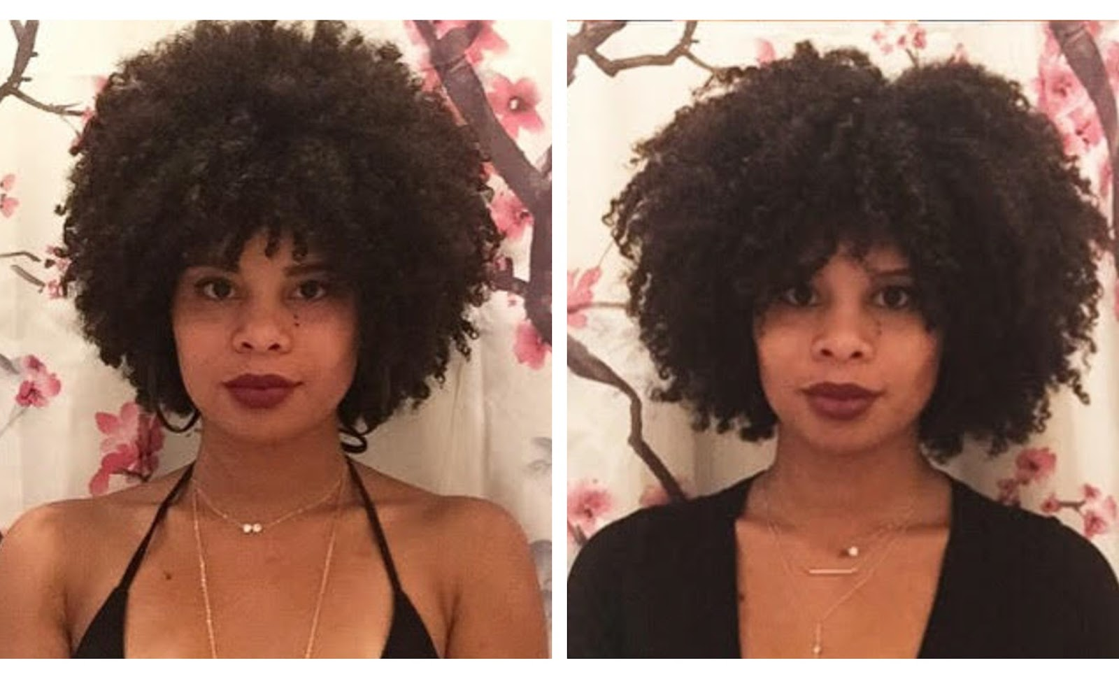 natural hair journey mixed girl