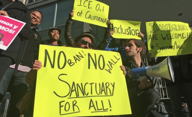 Half of all Americans now live in 'sanctuaries' protecting immigrants