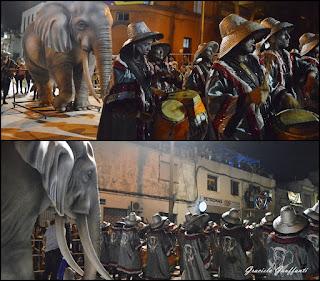 Desfile de Llamadas 2017 Montevideo Uruguay Uganda