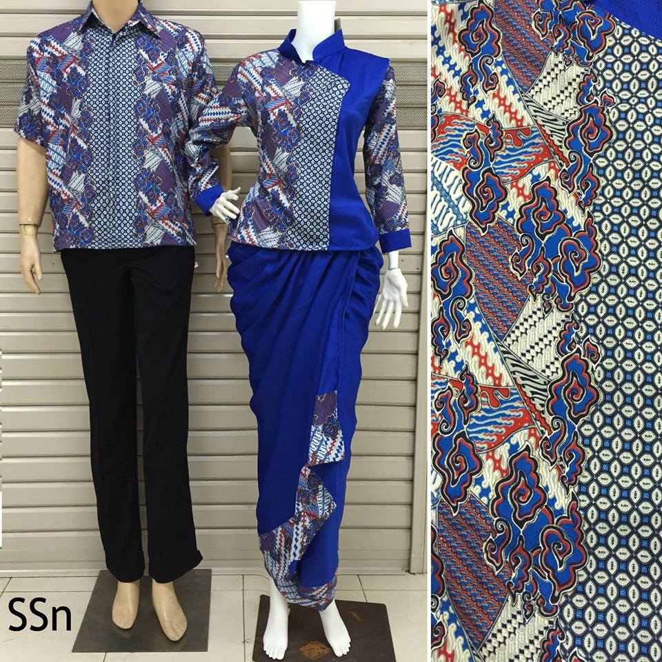 BATIK COUPLE MODEL ROK LILIT SSN