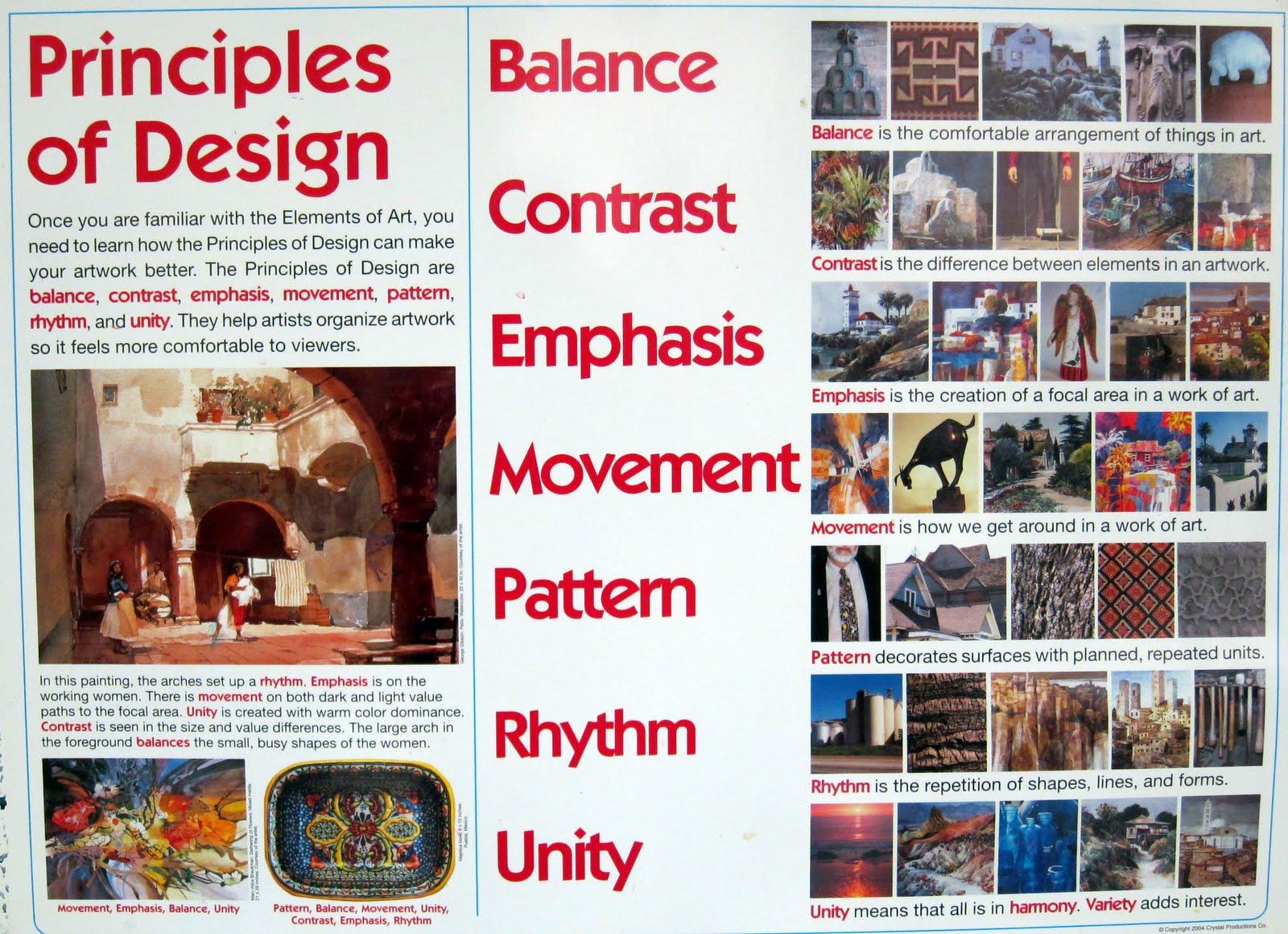 Mr Schmidt S Art Class Elements Amp Principles