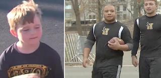 Αγόρι 5 ετών δέχεται καθημερινά bullying από νταήδες μέχρι που δύο ποδοσφαιριστές αποφάσισαν να πάρουν τη κατάσταση στα χέρια τους.