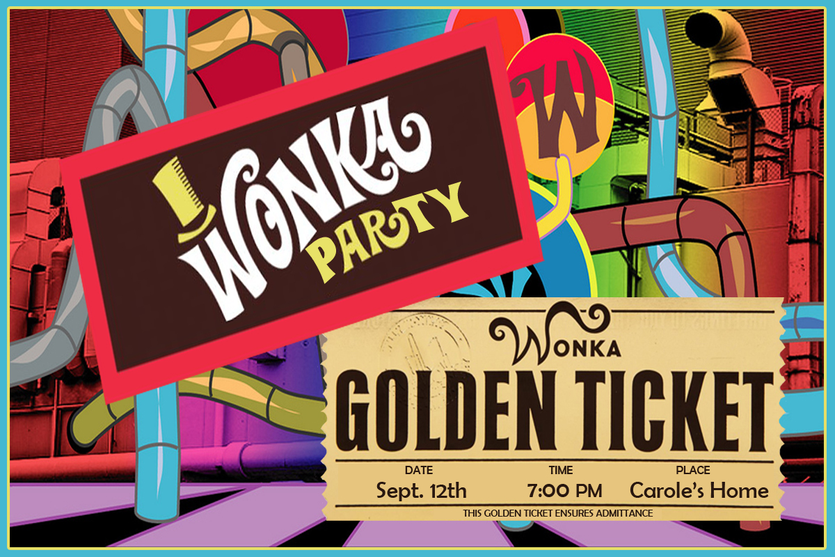 Invite and Delight: Willy Wonka Party - It\'s Candy Time!