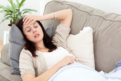 penat semasa hamil