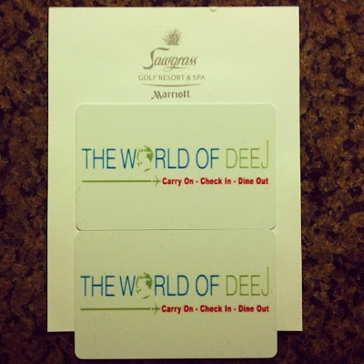 Personalized Hotel Room Keys