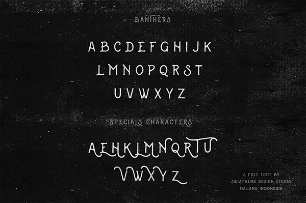 Download Gratis Font Terbaru September 2015 - banthers Free