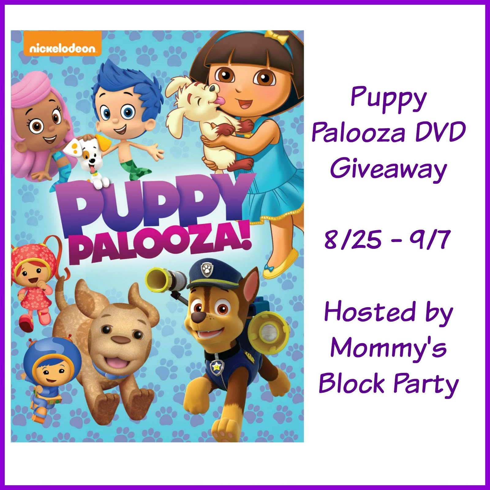 Celebrate National Dog Day Nickelodeon S Puppy Palooza On Dvd Giveaway