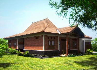 Desain Rumah Joglo Bergaya Modern
