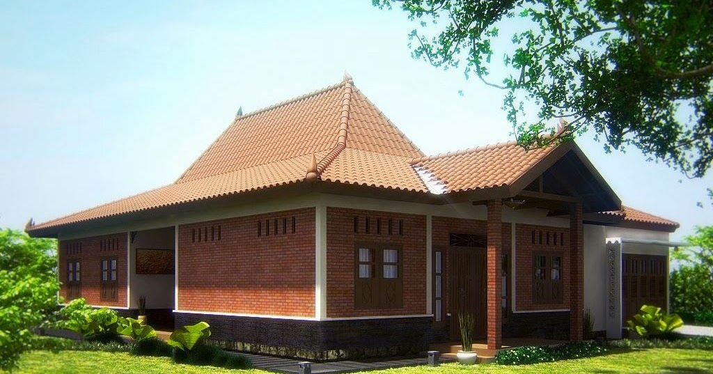 Desain Rumah Joglo Bergaya Modern di Jawa Tengah | Konsep ...