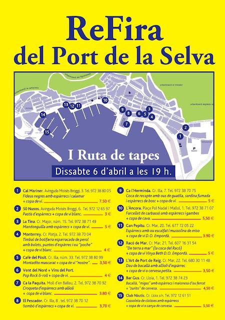 .@elportdelaselva Fira de l'Espàrrec