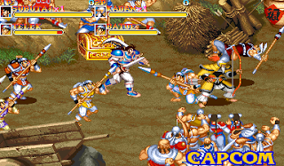 Warriors of Fate - Arcade